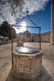 Square of Five Wells (Trg Pet bunara), Zadar Croatia