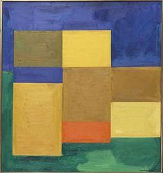 Silent Night by Hans Hofmann, 1964