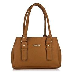 (76% Discount) Fostelo Women's Handbag (Tan,Fsb-551)