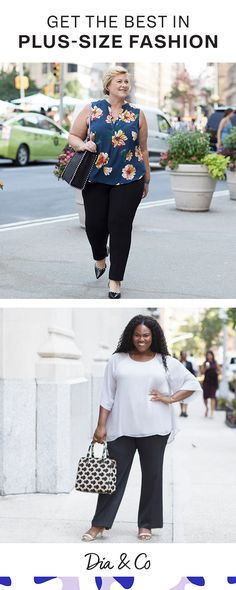Rework your closet with plus-size professional wear.