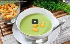 Propiedades del cilantro y receta para preparar una deliciosa crema. ¡Lo amarás! http://clubvive100.com/propiedades-del-cilantro/ Club Vive100