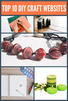 Need inspiration for your next Etsy product. Here are my Top 10 DIY Craft Websites