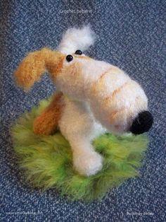 Project by Fiona. Crochet pattern Dog Lucky by Borisenko for LittleOwlsHut #LittleOwlsHut, #Amigurumi, #Borisenko, #CrochetPattern