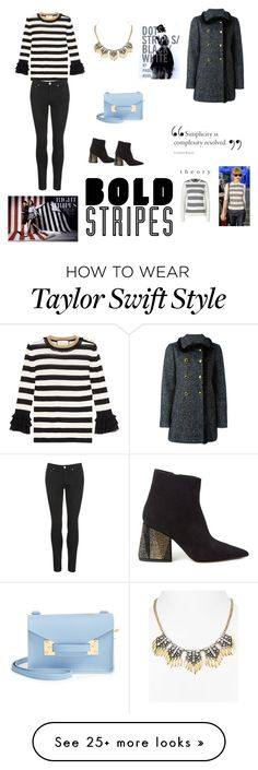"""""""bold stripe sweater"""" by adeane on Polyvore featuring Gucci, Aqua, Sophie Hulme, Acne Studios, Marni and Dolce&Gabbana"""
