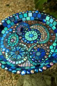 mosaic bird baths - Google Search