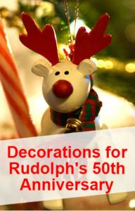 rudolph the red nosed reindeer decorations