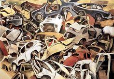 181. Sfascio di automobili - 1979