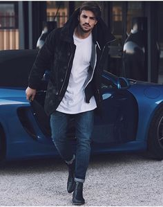 swag,style-fashion swag style stylish me swagger cute photooftheday jacket hair pants shirt instagood handsome cool polo swagg guy Boy Fashion, Fashion Models, Mens Fashion, Fashion Styles, Men Looks, Stylish Men, Men Casual, Mdv Style, Men's Style