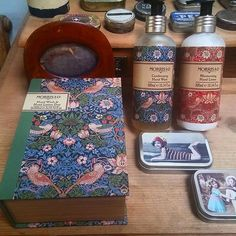 WEBSTA @ koivusalo - Most beautiful package for a handsoap and handcream from Morris