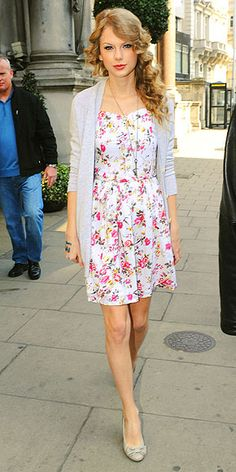 Such a fresh, cute look (every girl needs at least one great floral dress).