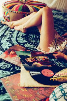 Bob Sala Photography, Listening to old records.