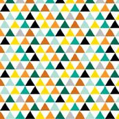 Pyramid Scheme in Mustard fabric by red_velvet, click to purchase