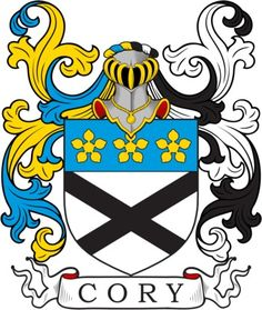 Cory Family Crest and Coat of Arms