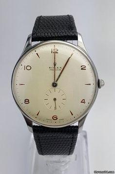Rolex Precision Vintage REF: 3675 sold on Modern Watches, Vintage Watches For Men, Fine Watches, Vintage Rolex, Cool Watches, Rolex Watches, Patek Philippe, Rolex Models, Watch Brands