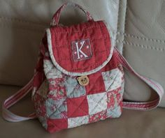 quilted backpack purse