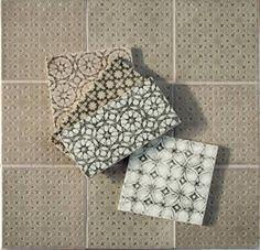 Scraffito ~ Handmade Tile Series from Pratt & Larson