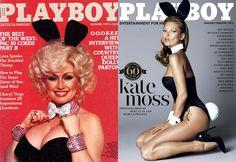 "Najlepsze okładki ""Playboya"" - Dolly Parton i Kate Moss"