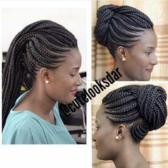 Fun and Beautiful Braided Hairstyles – HerHairdos Braids Hairstyles Pictures, African Braids Hairstyles, Hair Pictures, Girl Hairstyles, Braided Hairstyles, Natural Hair Braids, Braids For Black Hair, Natural Hair Styles, Short Hair Styles