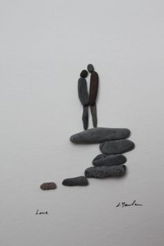 rocks romantic...   Pebble Art of NS by Sharon Nowlan - Welke.nl