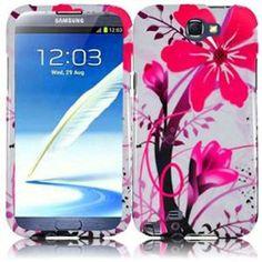 INSTEN For Samsung Galaxy S Note 2 N7100(AT & T) Design Case - Pink Splash
