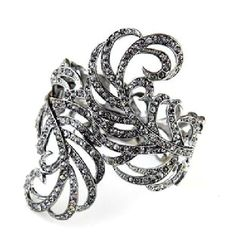 Silver Personalized Emo Goth Fashion Ball Pageant Jewelry Bracelets