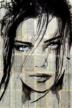 "Saatchi Art Artist LOUI JOVER; Drawing, ""fathoms"" #art"