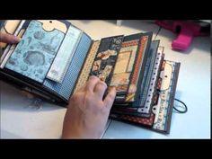 ▶ Graphic 45 By the Sea Mini Album - YouTube