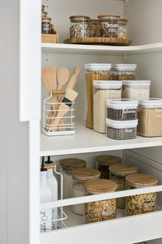 home dco Home Organisation Labels amp; - home dco Home Organisation Labels amp; Kitchen Organization Pantry, Home Organisation, Diy Kitchen Storage, Home Decor Kitchen, Home Kitchens, Diy Home Decor, Pantry Ideas, Pantry Cabinets, Kitchen Ideas