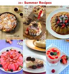 20+ summer recipes