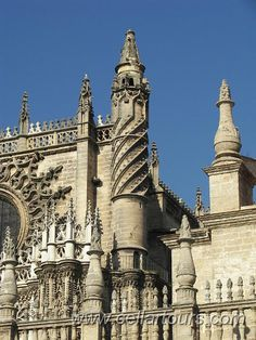 Seville Cathedral Seville, Spain, 1402 to 1520 Mosques, Cathedrals, Sevilla Spain, Beautiful Places In The World, Andalusia, Seville, Spain Travel, Barcelona Cathedral, Places Ive Been