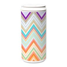 ECO Can x Nika Martinez , is a 450ml travel mug with a screw cap & swivel tab on top. Made of 100% natural materials, mainly corn starch extract, ZERO petroleum-base plastic, BPA free, microwave & dishwasher (top rack) safe = ECO with Creativity!