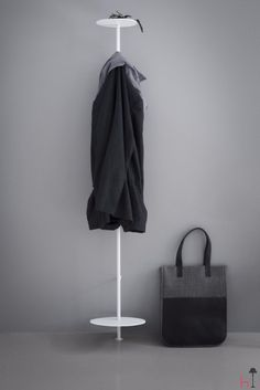Norm is a stylish coat hanger from the Danish design duo Norm Architects.