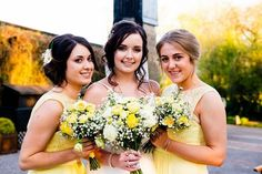 Bridal Makeup for Chelsea in April this year, Beautiful!   Loved the yellow touches to the wedding day theme.   Photography: Lloyd Richard Photography  Hair: Zarla Fowler Makeup: Kimberley Dredge
