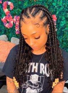 Box Braids Hairstyles For Black Women, Twist Braid Hairstyles, Black Girl Braids, African Braids Hairstyles, Baddie Hairstyles, Braids For Black Hair, Twist Braids, Weave Hairstyles, Twists