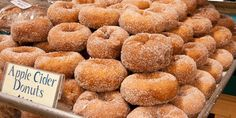 Adapted from the Apple Cider Doughnut recipe in Doughnuts: Simple and Delicious Recipes to Make at Home...makes about 12 large donuts, so if you promised a dozen to your coworkers, better double the batch in case you eat too many yourself.