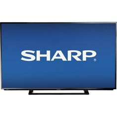 "Sharp - 50"" Class (49-1/2"" Diag.) - LED - 1080p - HDTV - Black   $399   FREE  Shipping     I like this from Best Buy"