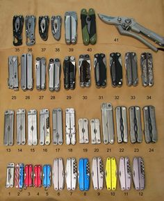 Leatherman Collection. Post yours if you would like. - page 1 - Leatherman Tools - Multitool.org