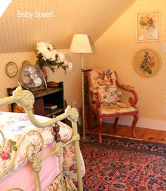 Betsy Speert's Blog: My Cottage Guestroom, chapter 2