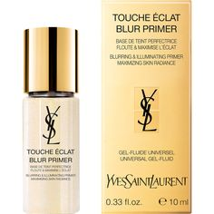 Yves Saint Laurent Beauty Touche Eclat Blur Primer ($52) ❤ liked on Polyvore featuring beauty products, makeup, face makeup, makeup primer, colorless and yves saint laurent