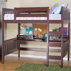 Epoch Design Gabriel Full Loft Bed & Reviews | Wayfair