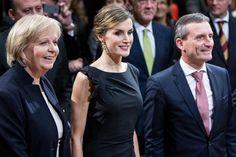 October 9, 2015...Queen Letizia attend opening of Zurbaran exhibition in Dusseldorf