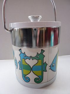 Very Collectable & Decorative 1960s ICE BUCKET by IconicEdinburgh