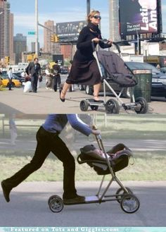 Stroller Scooter.... YES!!!!!!!