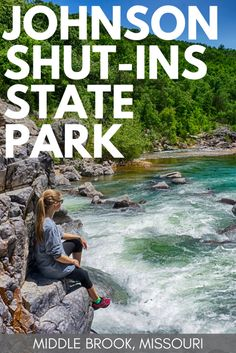 Johnson Shut-Ins State Park in Middle Brook is one of the most beautiful State Parks to visit in Missouri with hiking trails, swimming holes, and campsites. Usa Travel Guide, Travel Usa, Travel Vlog, Alaska Travel, Alaska Cruise, Camping Places, Places To Travel, Travel Destinations, Weekend Trips