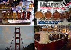 Take the Vantigo Brewery Tour, San Francisco and tour the North Bay area in style with a ruby red VW bus,  TheWanderfullTraveler.com