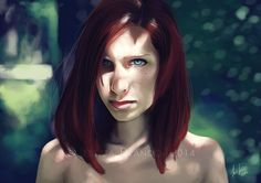 Beautiful Red by Jessica-Prando.deviantart.com on @deviantART
