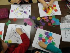 The Rainbow Fish book and craft project