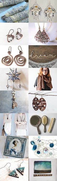 GGG - Gorgeous Girly Gifts - treasury by My Color Mood on Etsy #etsy #natural #color #palette