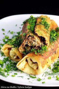 nalesniki wytrawne , nalesniki z kasza , nalesniki z serem , farsz do nalesnikow , nalesniki na ostro , zapiekane nalesniki , ostra na slodko , sylwia ladyga , blog kulinarny . co na obiad , tani obiad , pyszny obiad , danie na impreze