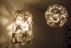chandeliers made from recycled plastic - Google Search